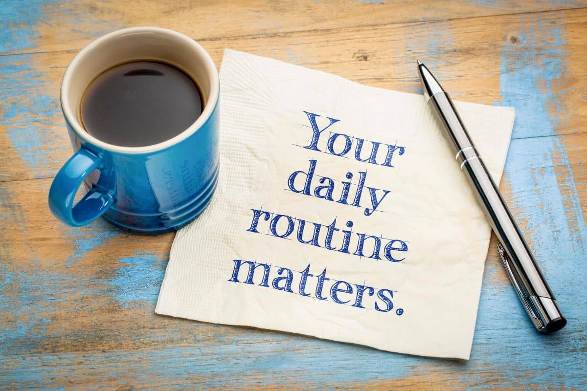 productive routines matter